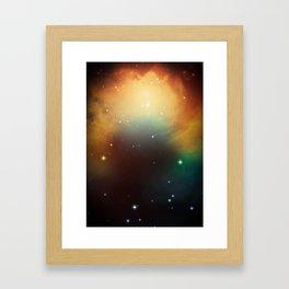 year3000 - Orange Space Framed Art Print