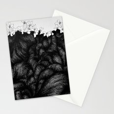 Sometimes the world is too big and I live underground 2 Stationery Cards