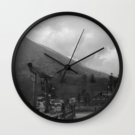 Nikkō mountain 002 Wall Clock