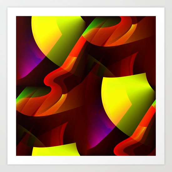 Garnish-With.... Art Print