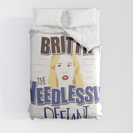 Britta the Needlessly Defiant Comforters