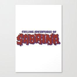 Chilling Adventures Of Sabrina Canvas Print