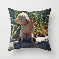 Just One Cornetto Throw Pillow