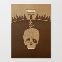 goonies Canvas Prints featuring The Goonies by Tommaso Valsecchi