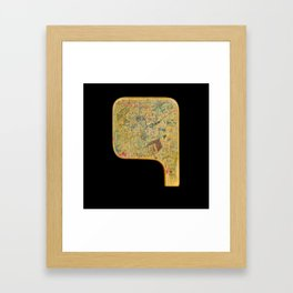 Big box - little box Framed Art Print