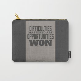 Difficulties Carry-All Pouch