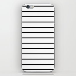 Minimalist Stripes iPhone Skin