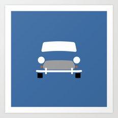 Mini Cooper ( Mk VII ) Art Print