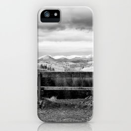 Bench With a View iPhone Case