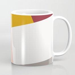 Abstract Geometric 27 Red Coffee Mug