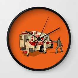 Robot Robbers Wall Clock