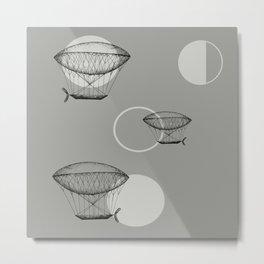 Airship Metal Print