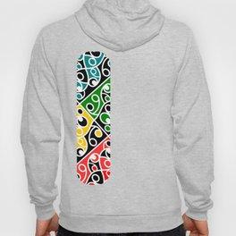 Maori Kowhaiwhai Pattern Hoody