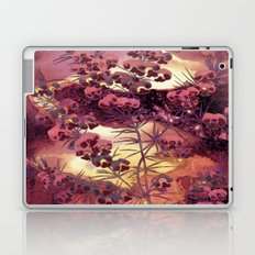pink Christmas landscape Laptop & iPad Skin