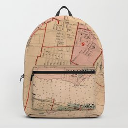 Map of Halifax 1878 Backpack