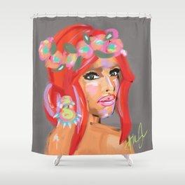 BRÍOMHAR // 'vibrant' Shower Curtain