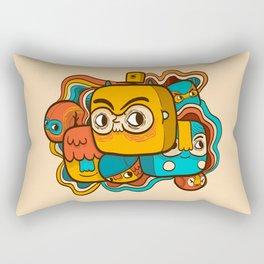 The Extraordinary League of Doodles Rectangular Pillow