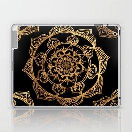 Gold Foil Mandala Laptop & iPad Skin
