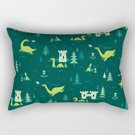 Cryptid Cuties: The Lochness Monster Rectangular Pillow