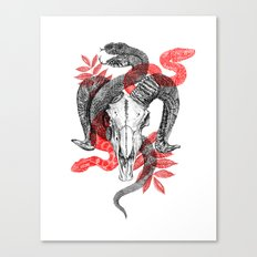Old Ghosts Canvas Print