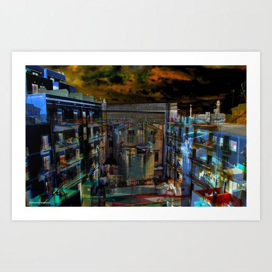 BAR#8174 Art Print