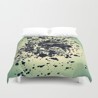 monkey Duvet Covers featuring Monkey by WonderfulDreamPicture