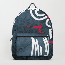Holy Spirit religious symbol illustration Backpack