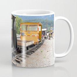 At the Rockwood Depot of the Durango & Silverton NG Railroad Coffee Mug