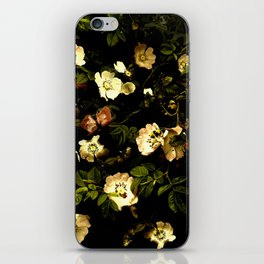 Floral Night I iPhone Skin