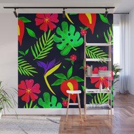 Tropical pattern Wall Mural
