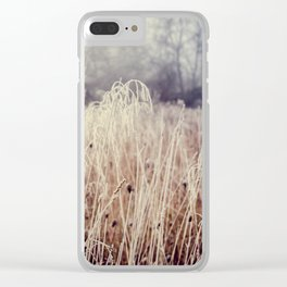 Hoarfrost Study l Clear iPhone Case