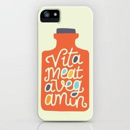Vitameatavegamin iPhone Case