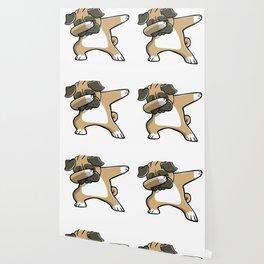Funny Dabbing Pug Dog Dab Dance Wallpaper