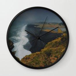 Edge Of Door Hill Island Wall Clock