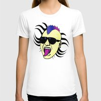 punk T-shirts featuring PUNK!!! by Denis Marsili DDTK