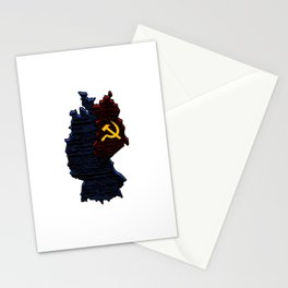 Cold War Veteran 1947 1991 Cool Distressed American Holiday Cool Gift Humor Pun Design Stationery Cards