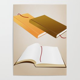 Book collection Poster