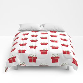 Christmas gifts - red and white Comforters