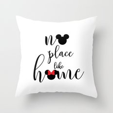 no place like home Throw Pillow