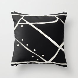 Hot Spots on St. Marks Throw Pillow