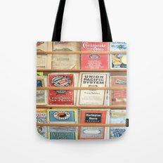 American Rail Brochures, Steamship Lines & More! Tote Bag