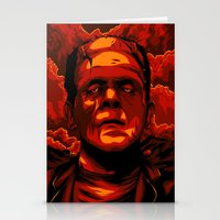 frankenstein Stationery Cards featuring Frankenstein by Denis O'Sullivan