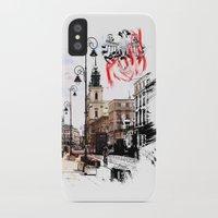 poland iPhone & iPod Cases featuring Poland - Krawkowskie Przedmiescie, Warsaw by viva la revolucion