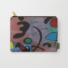 Inspired by Joan Miro Carry-All Pouch