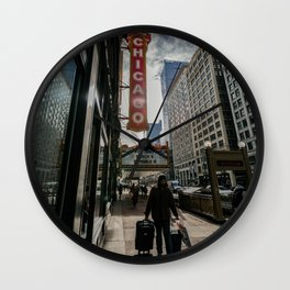 The Chicago Theater Premieres... Wall Clock