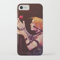 fullmetal iPhone & iPod Cases featuring edward by emvli