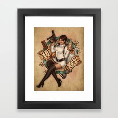 Spray and Pray Framed Art Print