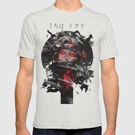 Uchiha Akatsuki Dark Monochrome T-shirt