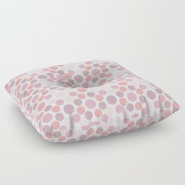 Blushing Dots Floor Pillow