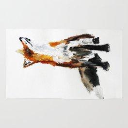 Woodland Fox (reverse edit) Rug